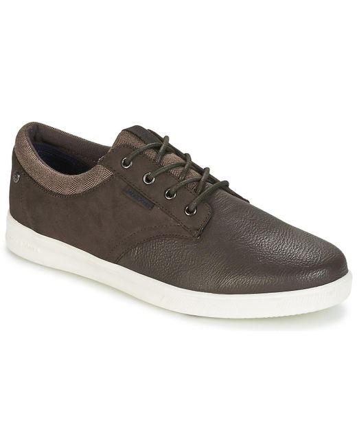 Jack & Jones - Brown Gaston Shoes (trainers) for Men - Lyst