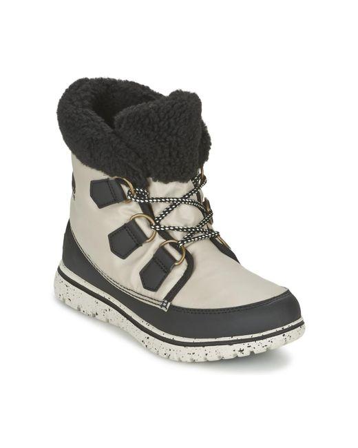 Sorel - Gray Cozy Carnival Mid Boots - Lyst
