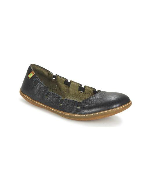 El Naturalista | Black El Viajero Shoes (pumps / Ballerinas) | Lyst
