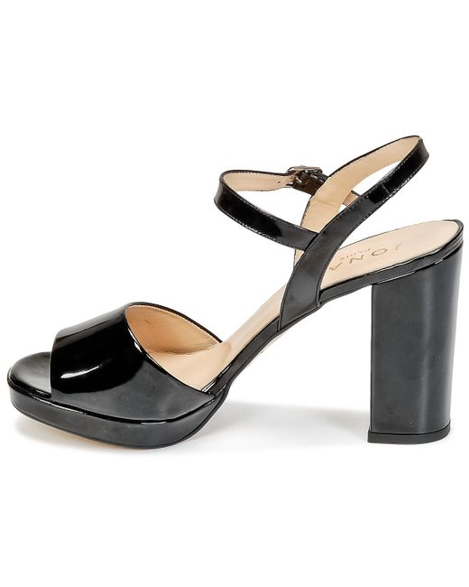6143758bae ... Jonak - Black Vana Sandals - Lyst ...