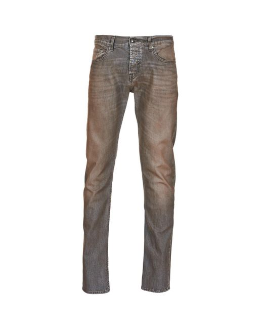 7 For All Mankind - Gray Chad Coated Fashion Men's Skinny Jeans In Grey for Men - Lyst