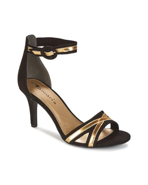 Tamaris - Black - Sandals - Lyst