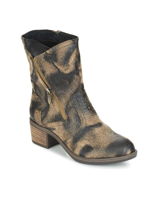 Les P'tites Bombes - Natural Blandine Mid Boots - Lyst