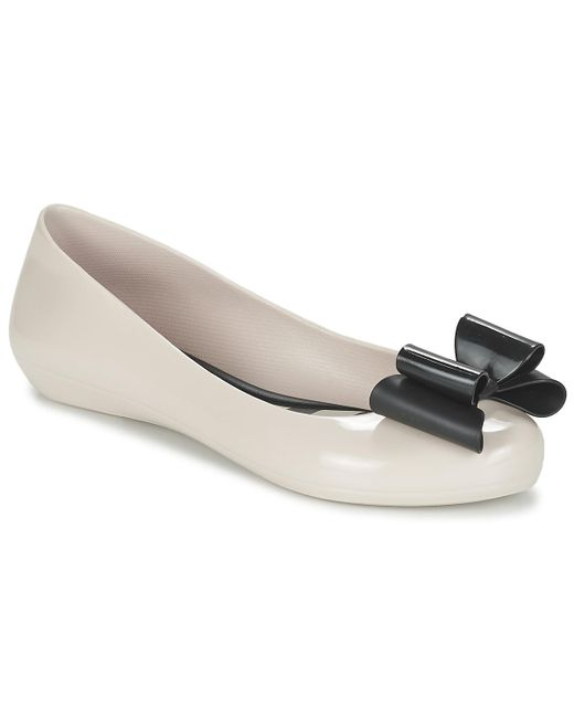 Zaxy - Natural Pop Bow Shoes (pumps / Ballerinas) - Lyst