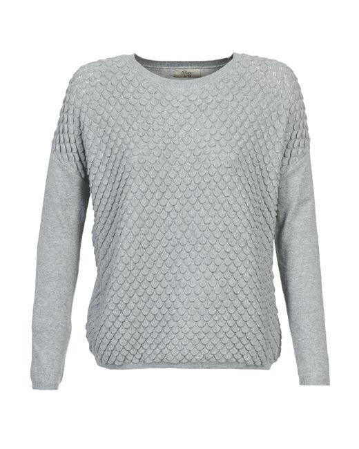 Betty London - Gray Fythony Sweater - Lyst