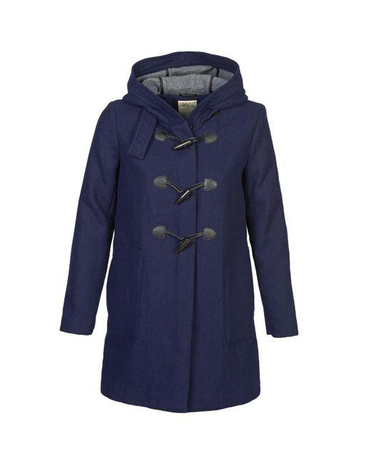 Esprit - Blue Popel Coat - Lyst