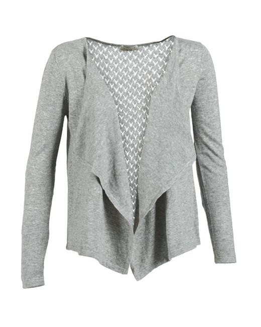 Betty London - Gray Elliane Cardigans - Lyst