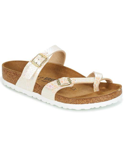 Birkenstock - Natural Mayari Mules / Casual Shoes - Lyst