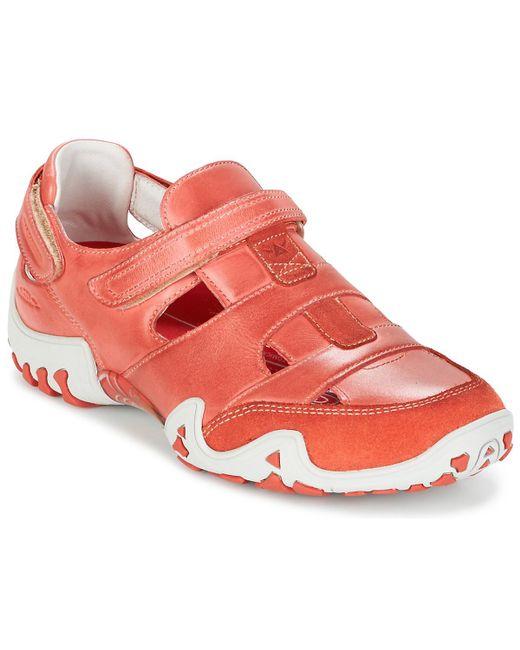 Allrounder By Mephisto - Orange Firelli Sandals - Lyst