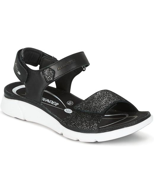 Allrounder By Mephisto - Black Tabasa Sandals - Lyst