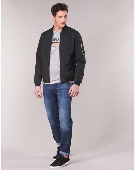 698609dbc93f Jack   Jones Jjedesert Jacket in Black for Men - Lyst