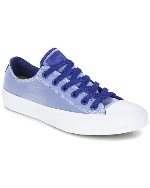 Converse - Blue Chuck Taylor All Star Ii - Ox Shoes (trainers) - Lyst