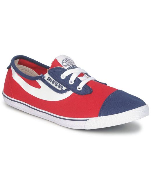 DIESEL - Red C-good Shoes (trainers) for Men - Lyst