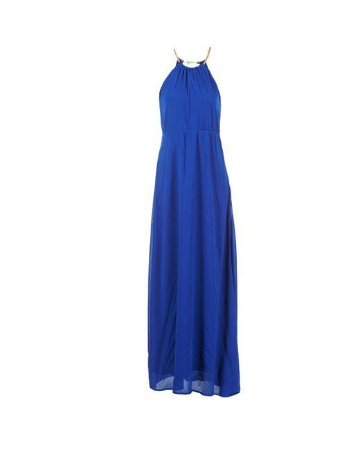 Compañía Fantástica - Blue Ostrya Long Dress - Lyst