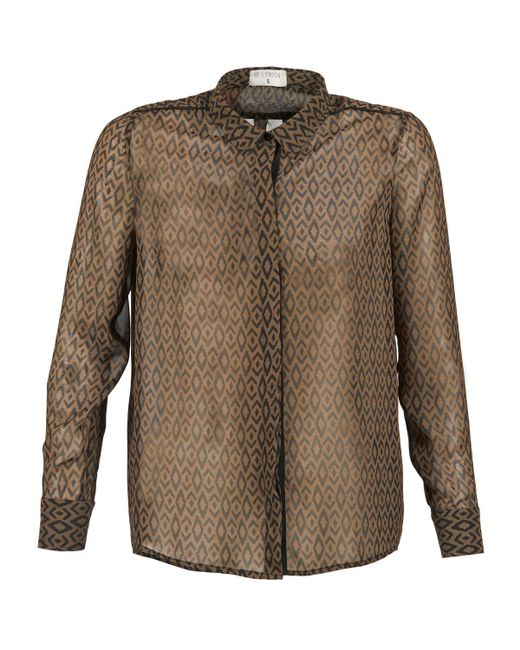 Betty London - Brown Edinelle Shirt - Lyst