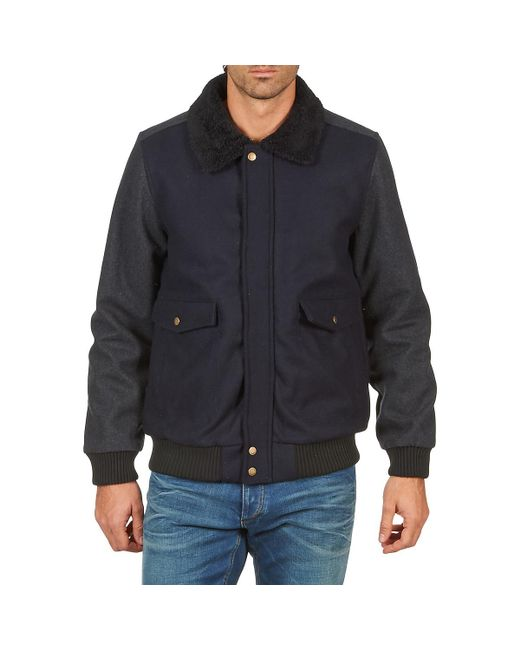 Kulte - Blue Veste Carrie 101849 Anth Jacket for Men - Lyst