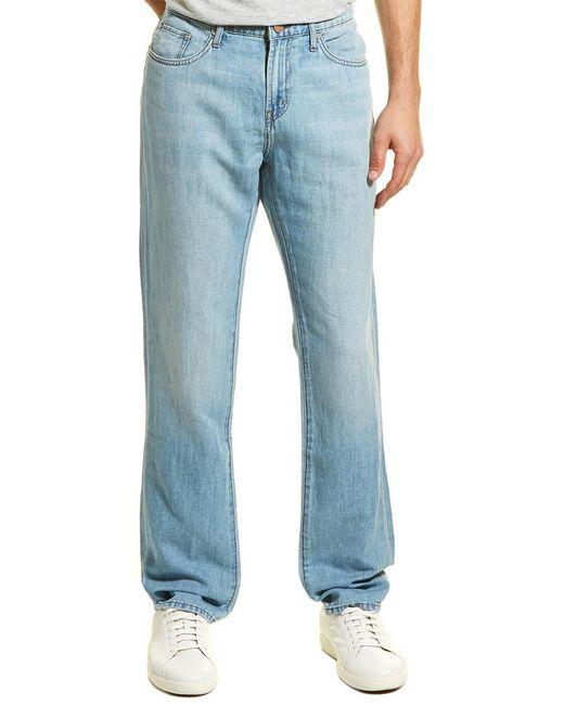 J Brand - Blue Kane Lynx Linen-blend Straight Leg for Men - Lyst