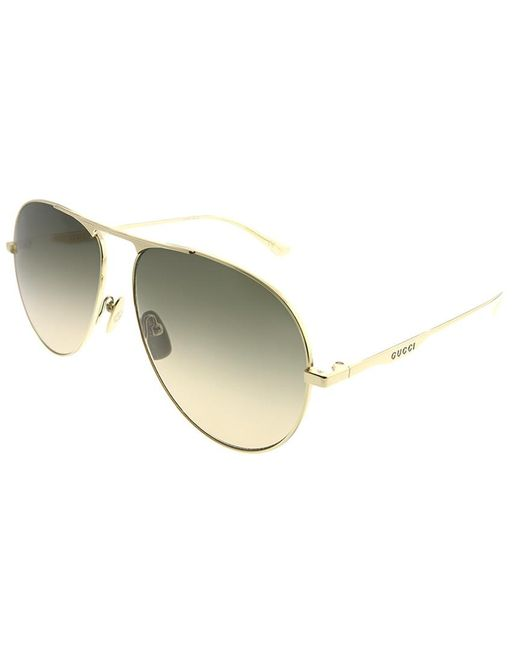 3e9ff0162d5 Gucci - Multicolor Pilot 60mm Sunglasses for Men - Lyst ...