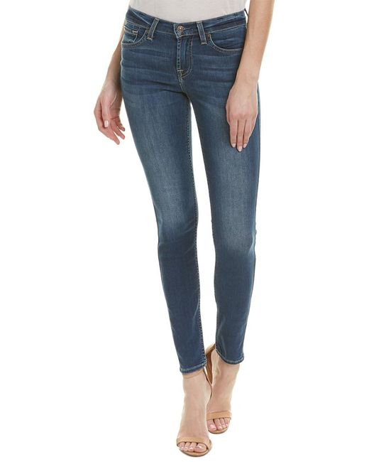7 For All Mankind - Blue 7 For All Mankind Gwenevere Kearney Authentic Skinny Leg - Lyst
