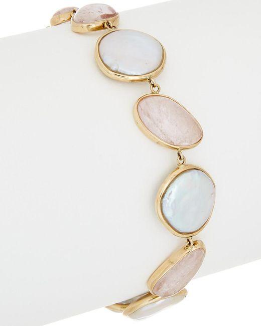 Tara Pearls - Multicolor 14k Morganite Bracelet - Lyst