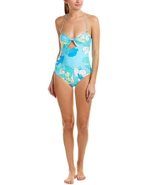 6 Shore Road By Pooja - Blue Laguna One-piece - Lyst