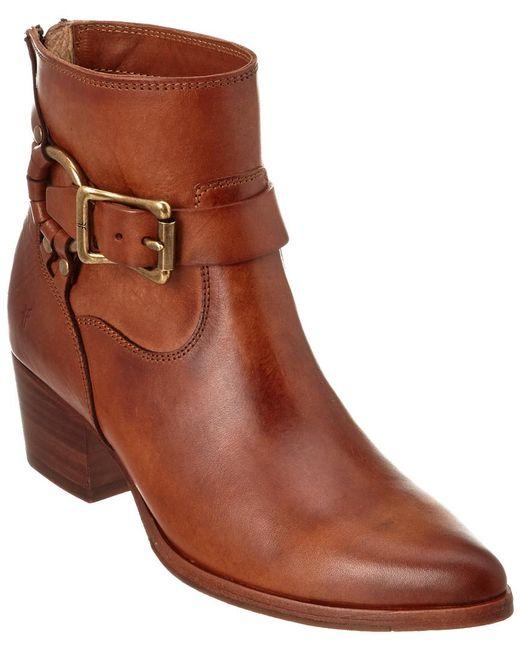 Frye | Brown Women's Zoe Ring Leather Boot | Lyst
