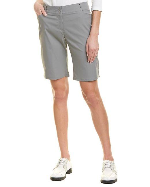 Adidas - Gray Golf Essential Bermuda Short - Lyst