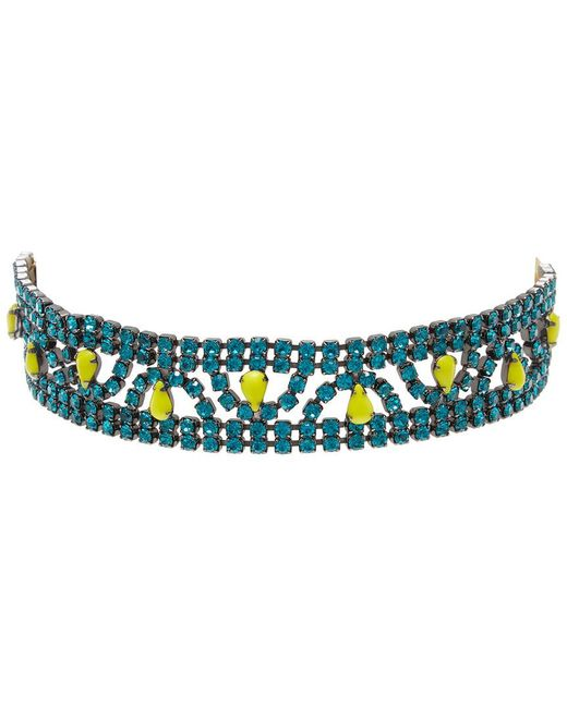 Elizabeth Cole - Multicolor Perpetua Choker Necklace - Lyst