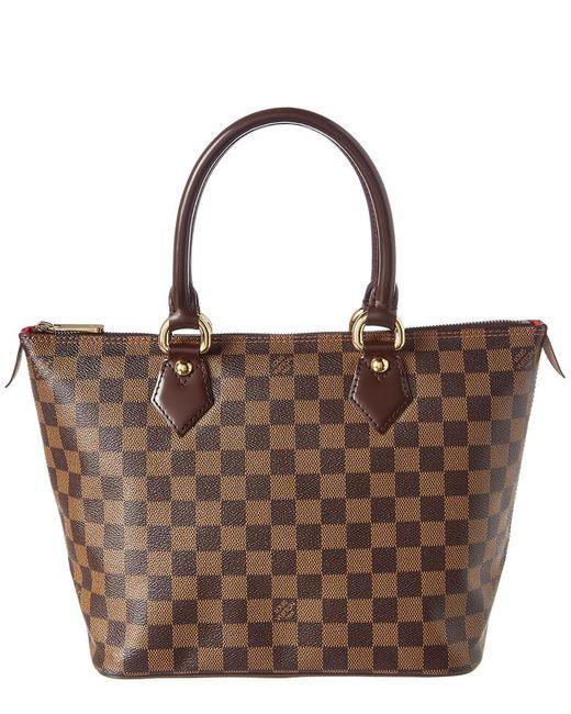 Louis Vuitton - Brown Damier Ebene Canvas Saleya Pm - Lyst