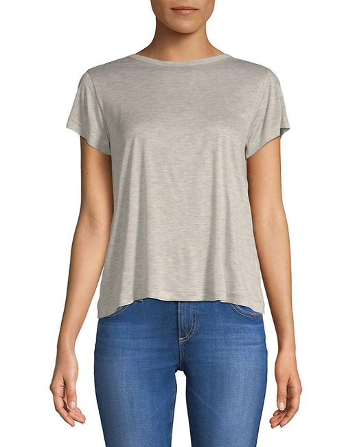 Helmut Lang - Gray Kick Crew Neck T-shirt - Lyst