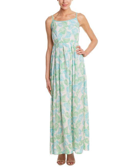 Sugarlips | Green Palm Spring Maxi Dress | Lyst