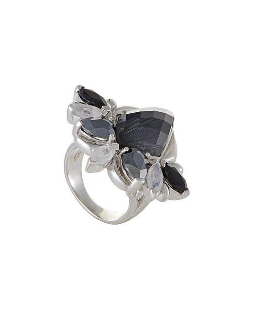 Stephen Webster - Metallic Silver & Rhodium 1.28 Ct. Tw. Gemstone Ring - Lyst
