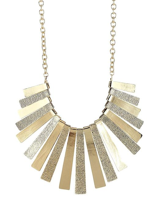 Sparkling Sage - Metallic 14k Plated Necklace - Lyst