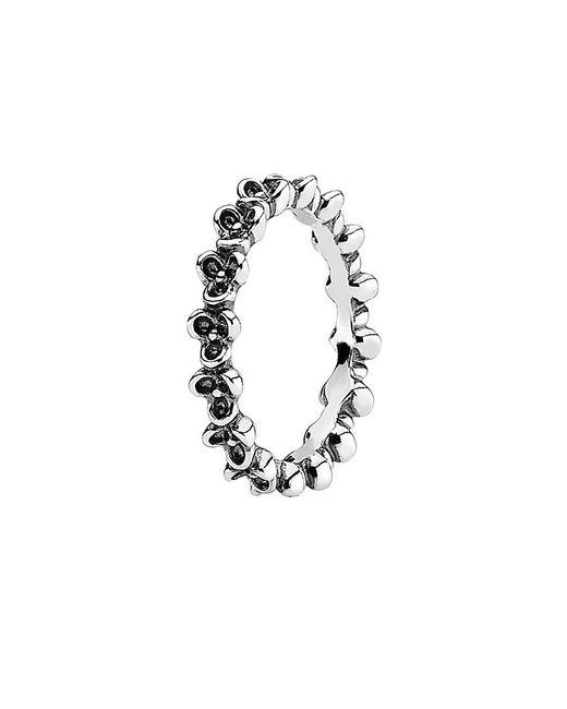 Pandora - Metallic Silver Ring - Lyst