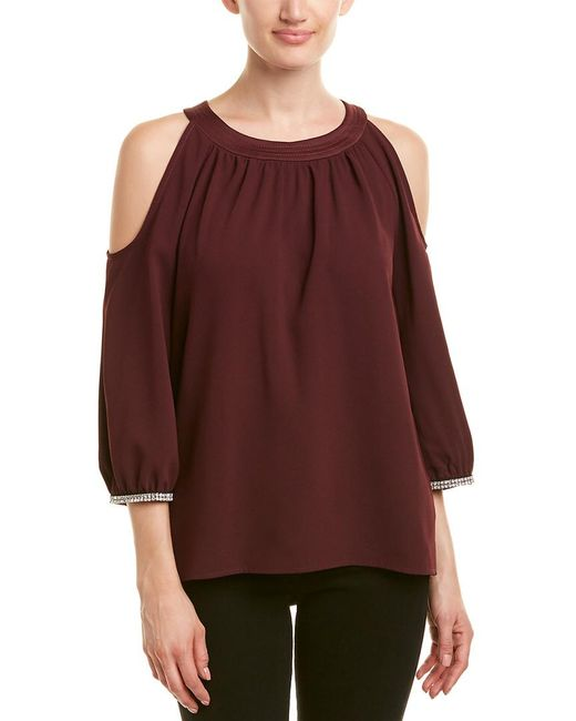 Trina Turk - Red Sicily Top - Lyst