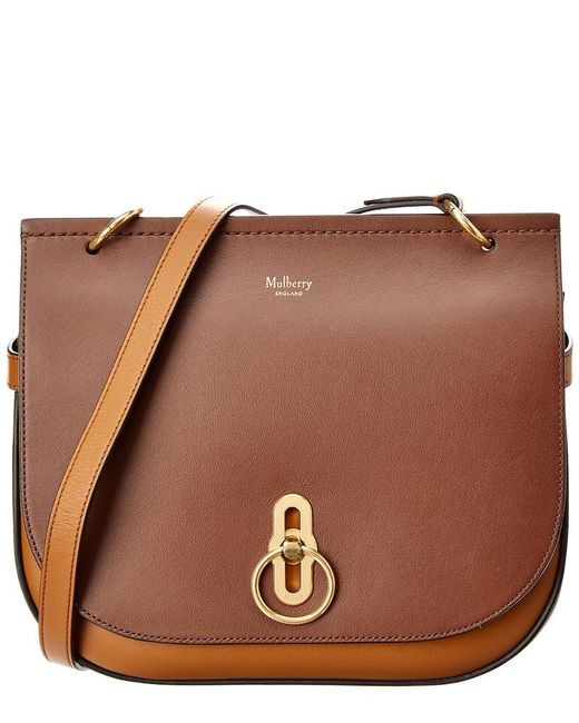 Mulberry - Brown Amberley Leather Satchel - Lyst ... 4311ae88afe47