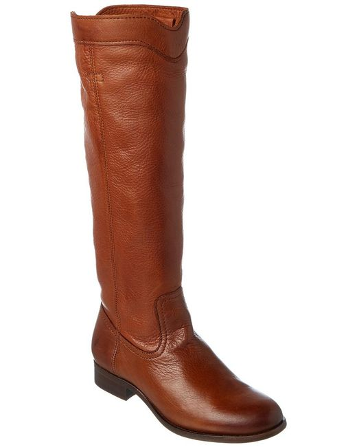 Frye - Brown Women's Cara Roper Mid Leather Boot - Lyst