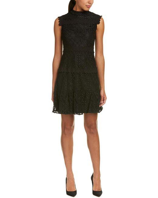 Julia Jordan - Black Shift Dress - Lyst