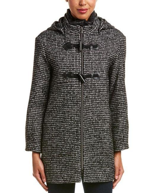 Cinzia Rocca - Black Icons Wool-blend Coat - Lyst