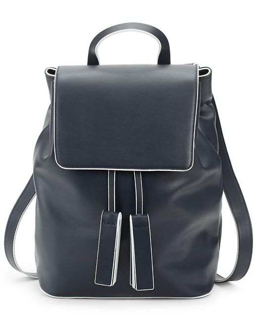 French Connection - Blue Vale Drawstring Backpack - Lyst