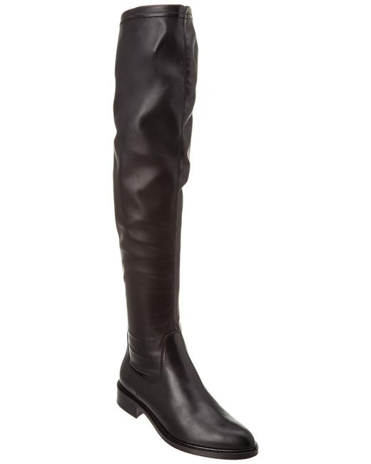 Aquatalia - Black Gisele Waterproof Leather Over-the-knee Boot - Lyst
