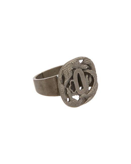 Valentino - Metallic Brass Bird Ring - Lyst