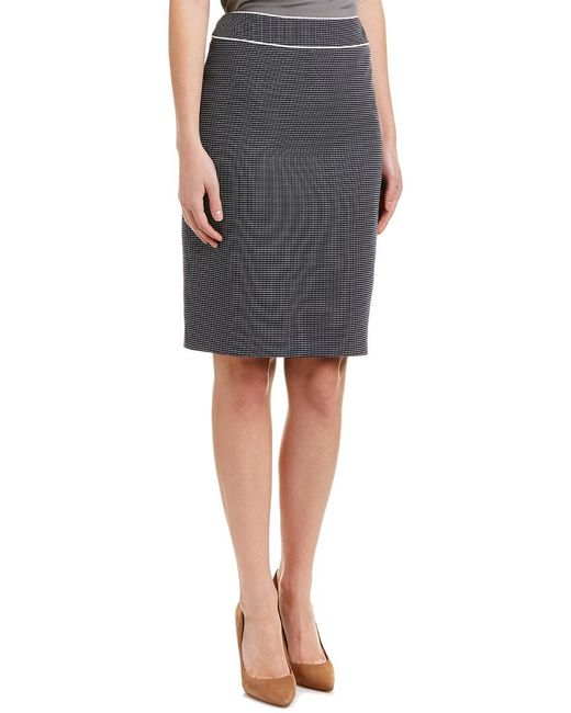 Tahari - Blue Tahari Asl Pencil Skirt - Lyst