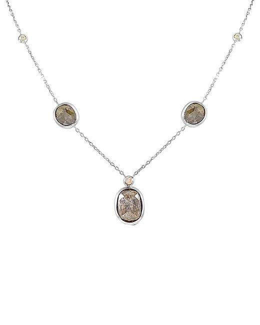 Sabrina Designs - Metallic 14k 6.66 Ct. Tw. Diamond Necklace - Lyst