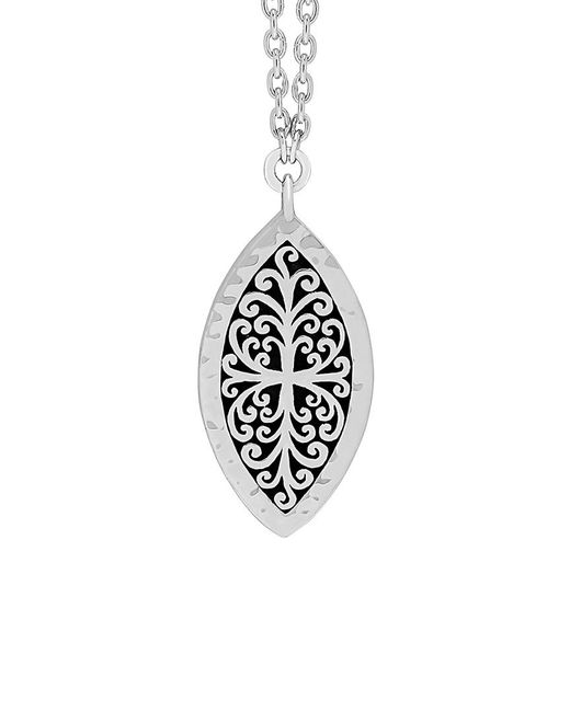 Lois Hill - Metallic Silver Necklace - Lyst