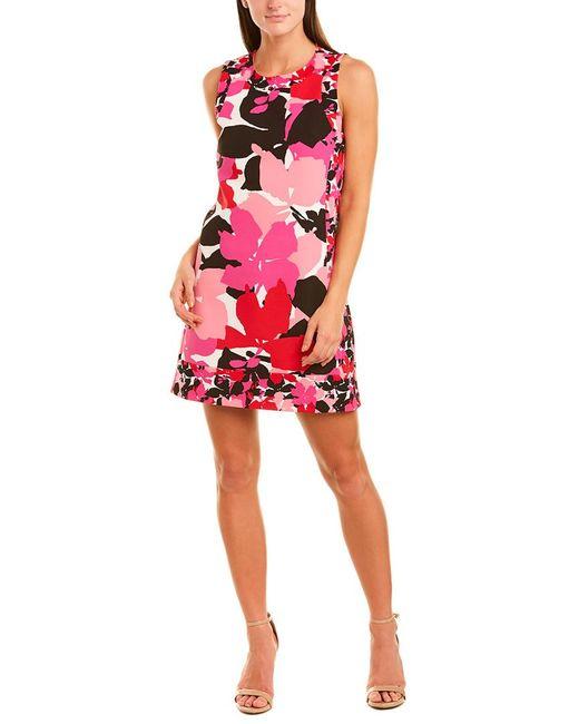 Cece by Cynthia Steffe Pink Shift Dress