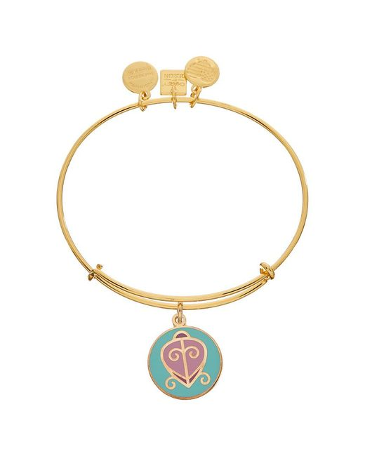 ALEX AND ANI - Metallic Path Of Symbols Expandable Bracelet - Lyst