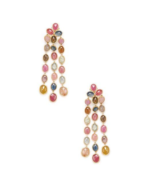 Marco Bicego - Metallic Siviglia 18k Yellow Gold Gemstone Drop Earrings - Lyst