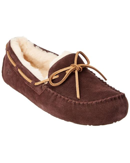 6457ea9431c Lyst - Ugg Men s Olsen Suede Slipper in Brown for Men