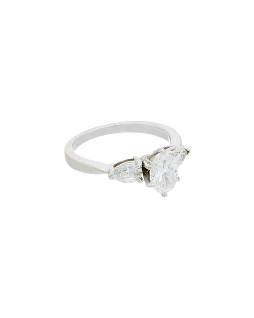 Diana M - Metallic Bridal Collection 18k 1.29 Ct. Tw. Diamond Ring - Lyst